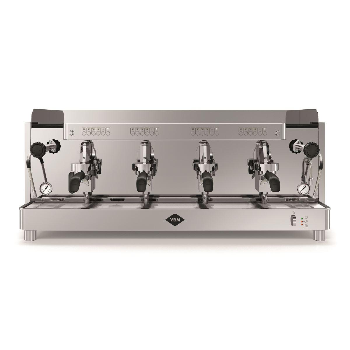 Espressor profesional Vibiemme Replica HX Elettronica, 4 grupuri