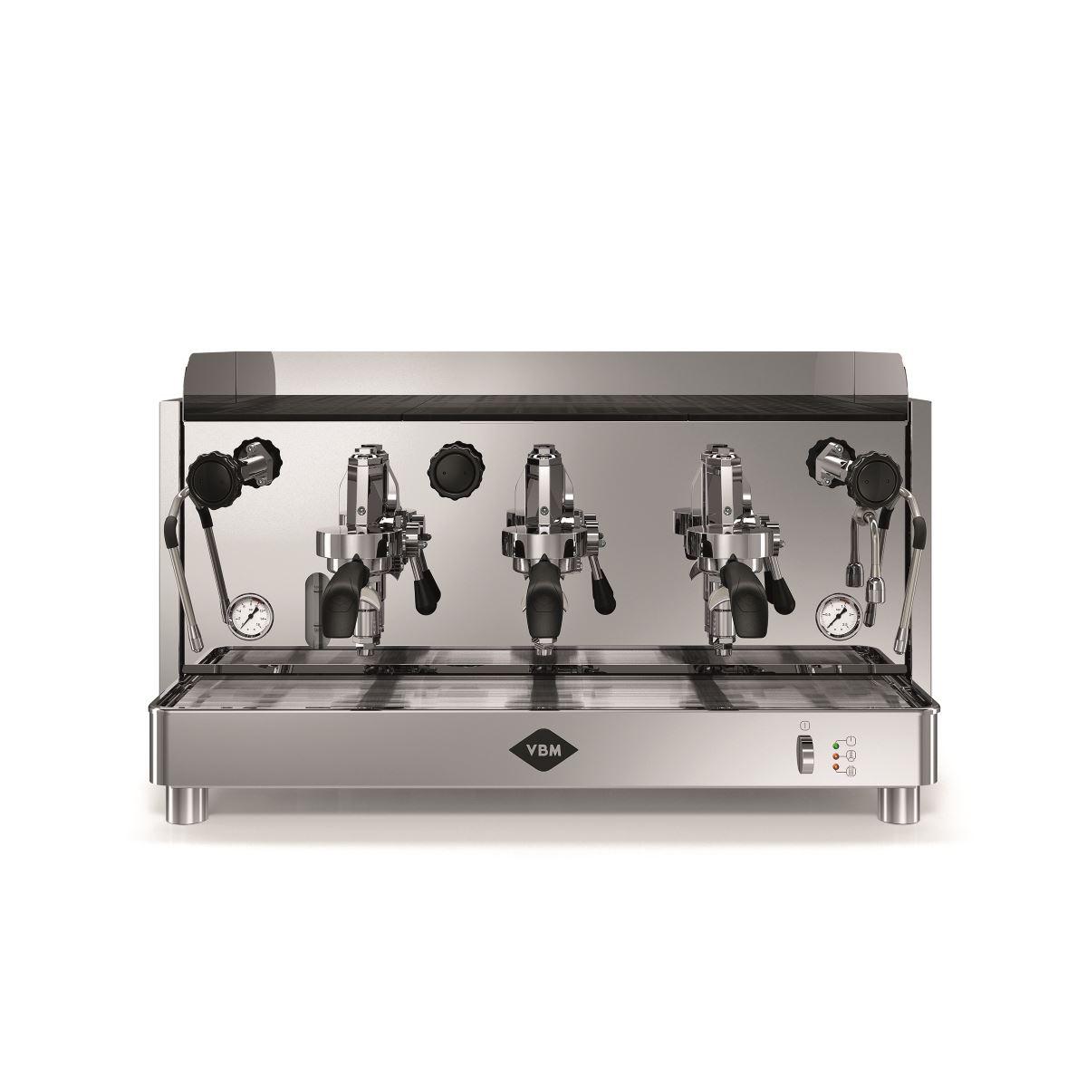 Espressor profesional Vibiemme Replica HX Manuale, 3 grupuri