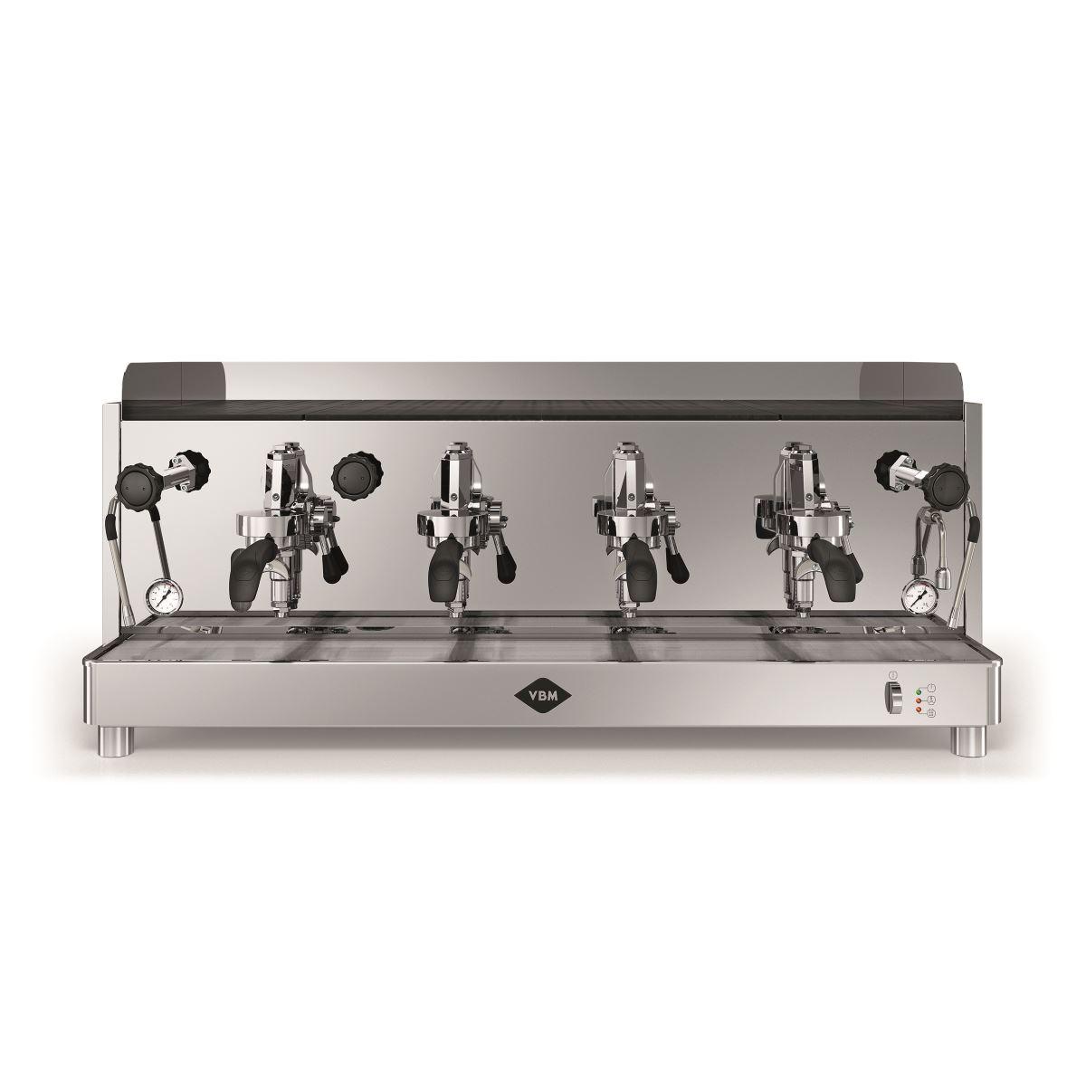 Espressor profesional Vibiemme Replica HX Manuale, 4 grupuri