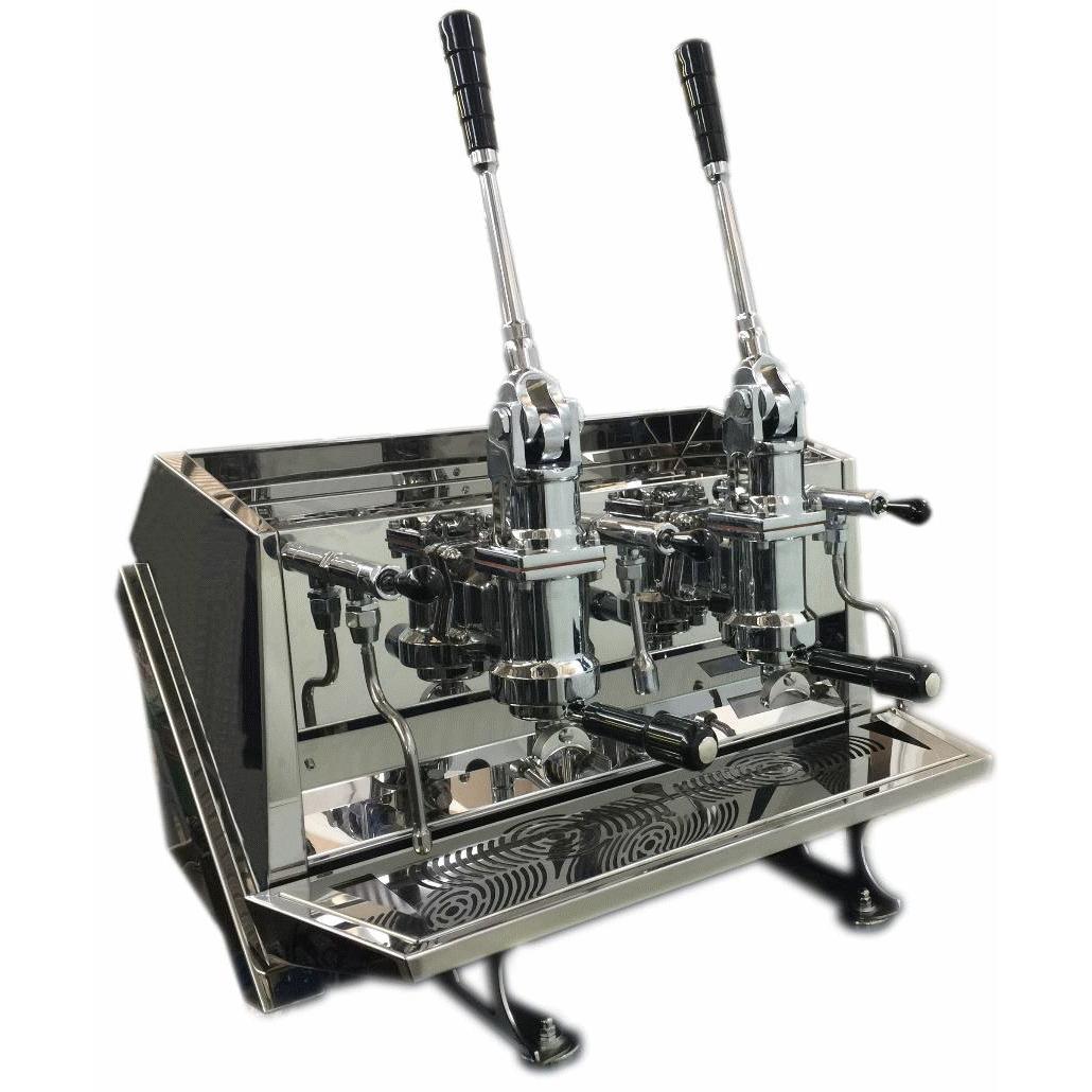 Espressor profesional cu pârghie ACS Vostok, 2 grupuri