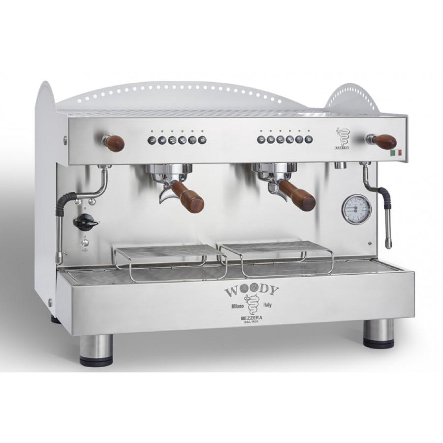 Espressor profesional Bezzera Woody, dozare alectronică, 2 grupuri