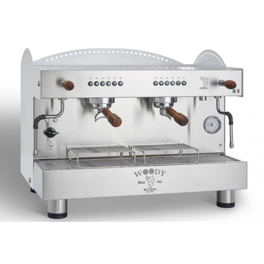 Espressor profesional Bezzera Woody, dozare electronică, 1 grup