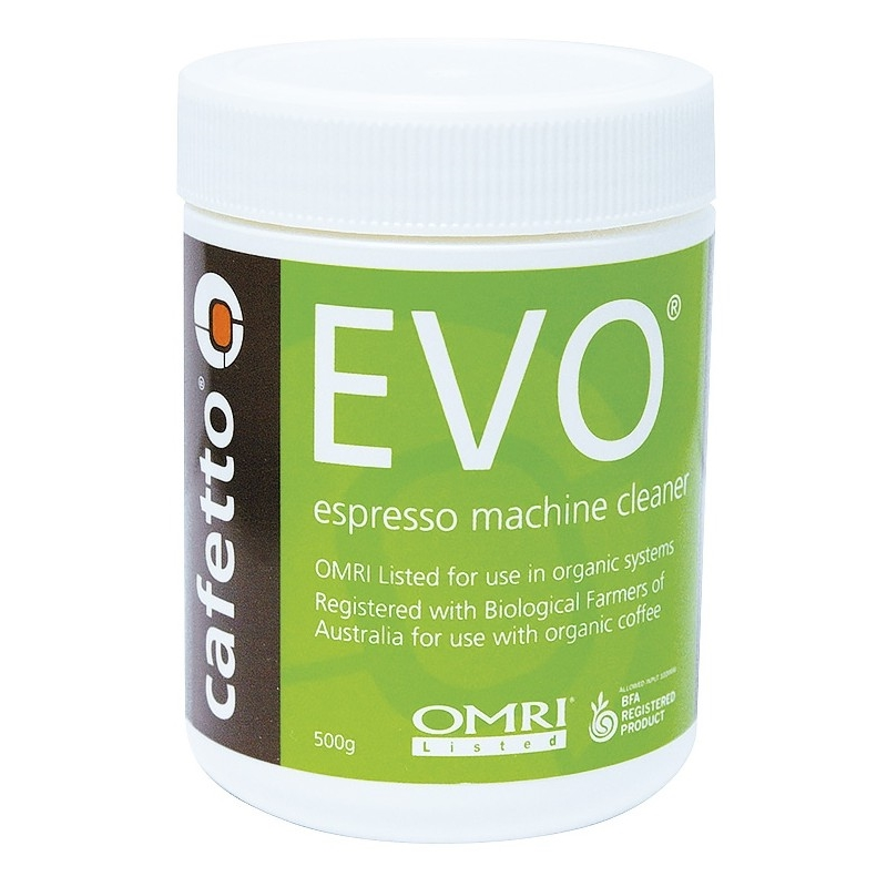 Cafetto EVO - detergent pudră premium pentru backflush, pentru aparatele de cafea (borcan 1kg)