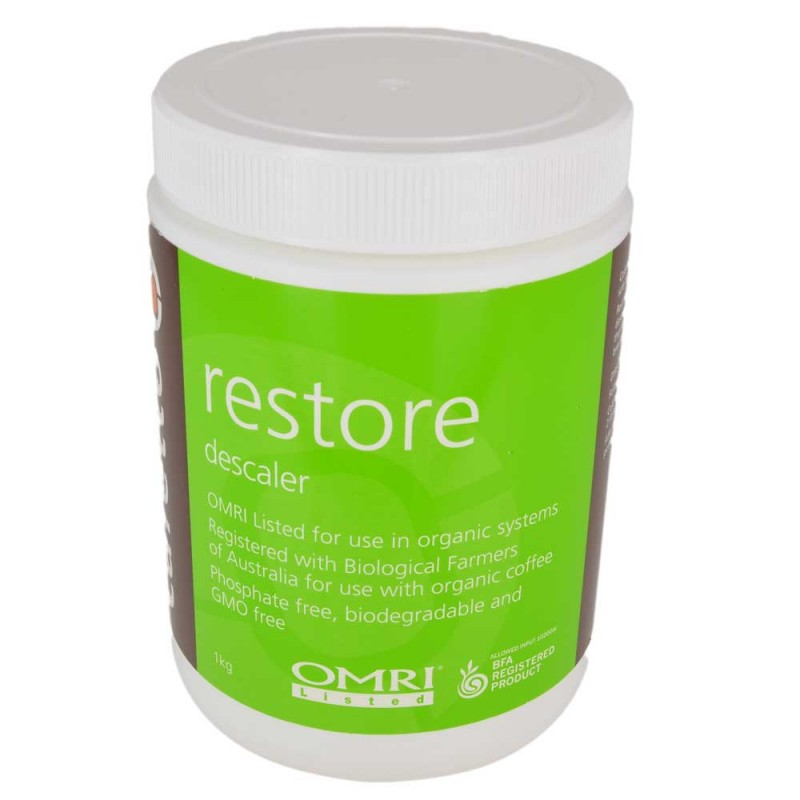 Cafetto Restore - decalcifiant organic pudra (borcan 1Kg)