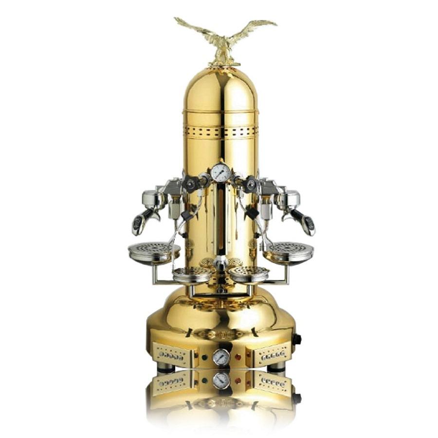 Espressor profesional Bezzera EAGLE DE, dozare electronică, 2 grupuri, auriu