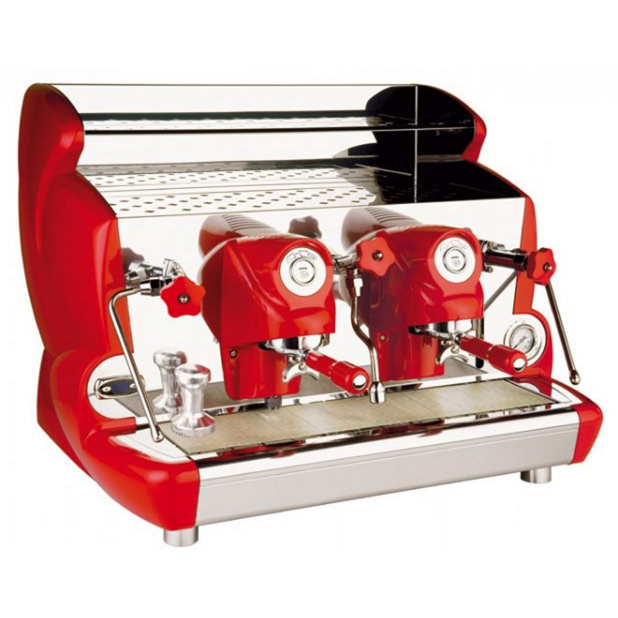Espressor profesional Izzo MyWay Sorrento semiautomat, 2 grupuri, control PID