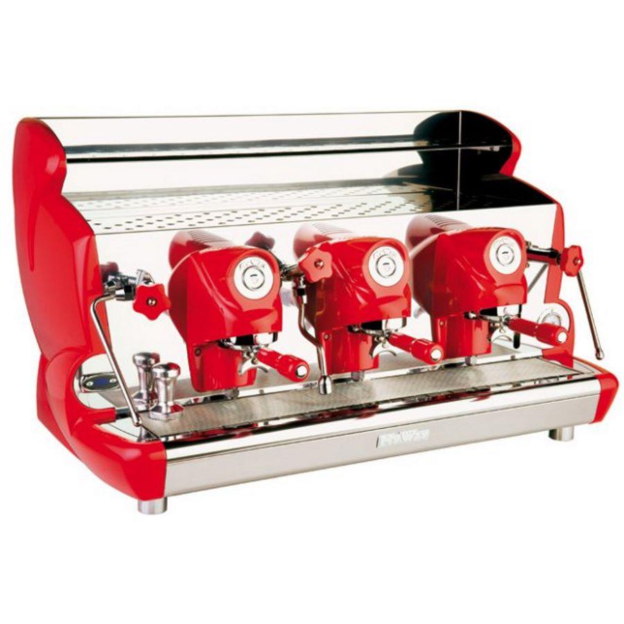 Espressor profesional Izzo MyWay Sorrento semiautomat, 3 grupuri, control PID